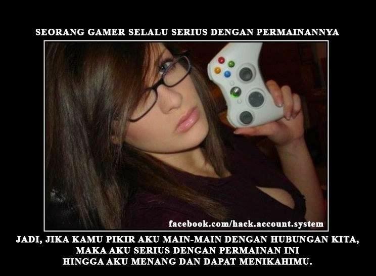 gambar lucu gamer