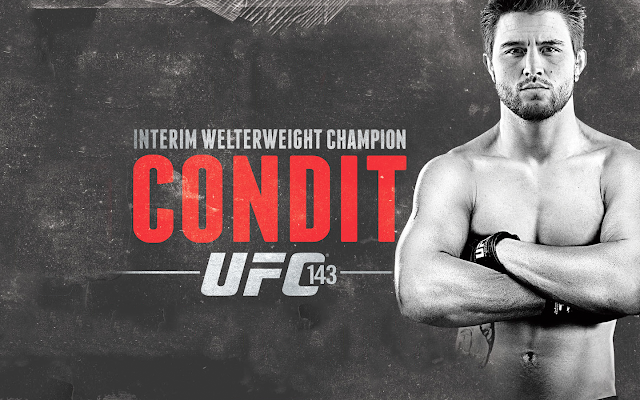 ufc mma welterweight fighter carlos condit wallpaper picture image