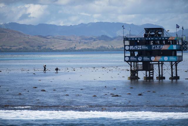 50 Low tide Fiji Pro 2015 Fotos WSL Kirstin