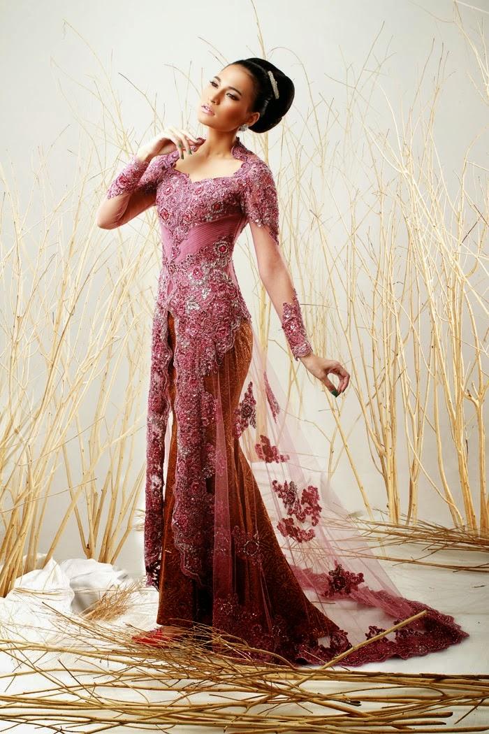 Kebaya Model Duyung Tahun 2014