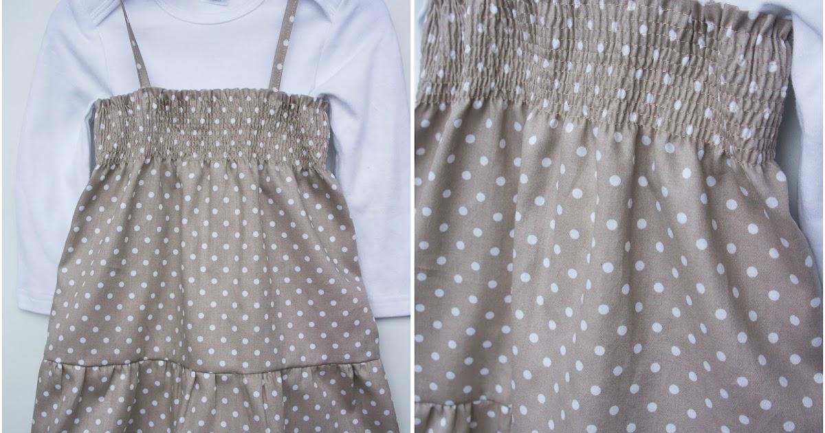 Сшить детское платье на резинке 609