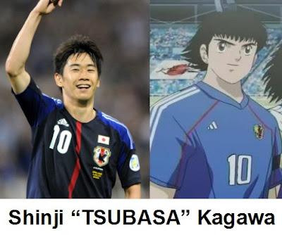 Shinji Kagawa Captain Tsubasa