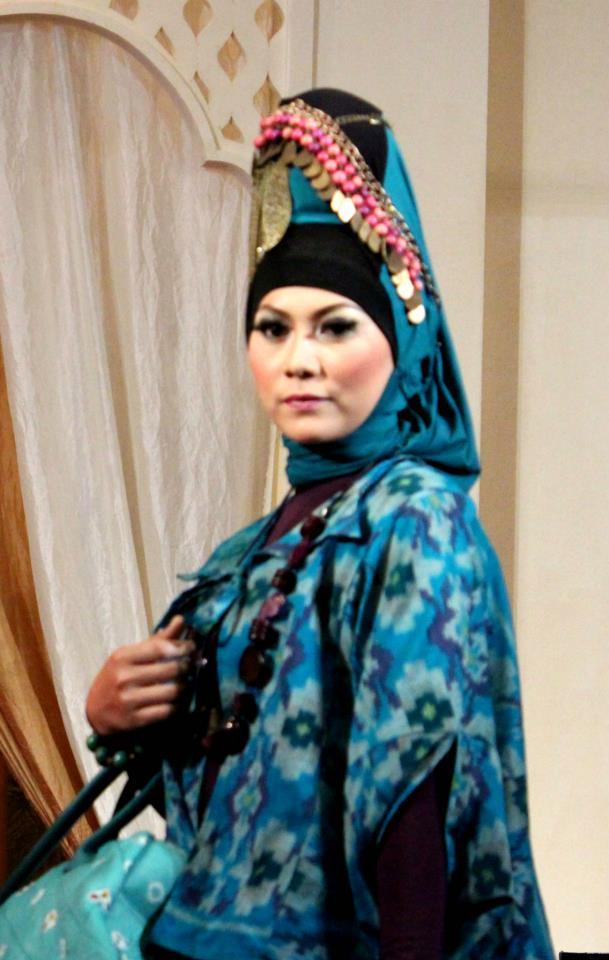 Alisha Fancy Shop Fashion Show At Hijab Fashion Week 2012