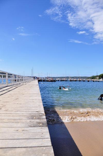 balmoral beach boardwalk