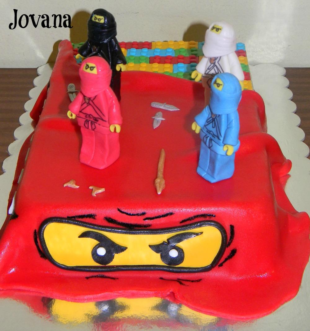 Ninjago torte vo na ananas banana torta jojini for Decorazioni torte ninjago