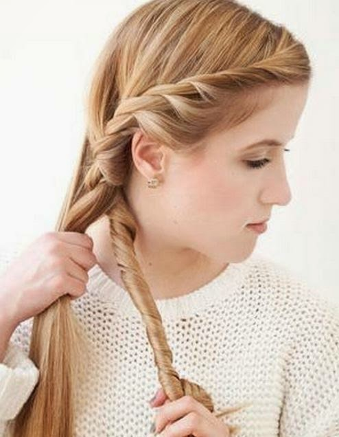 Diy Simple Side Braid Hairstyle The Idea King