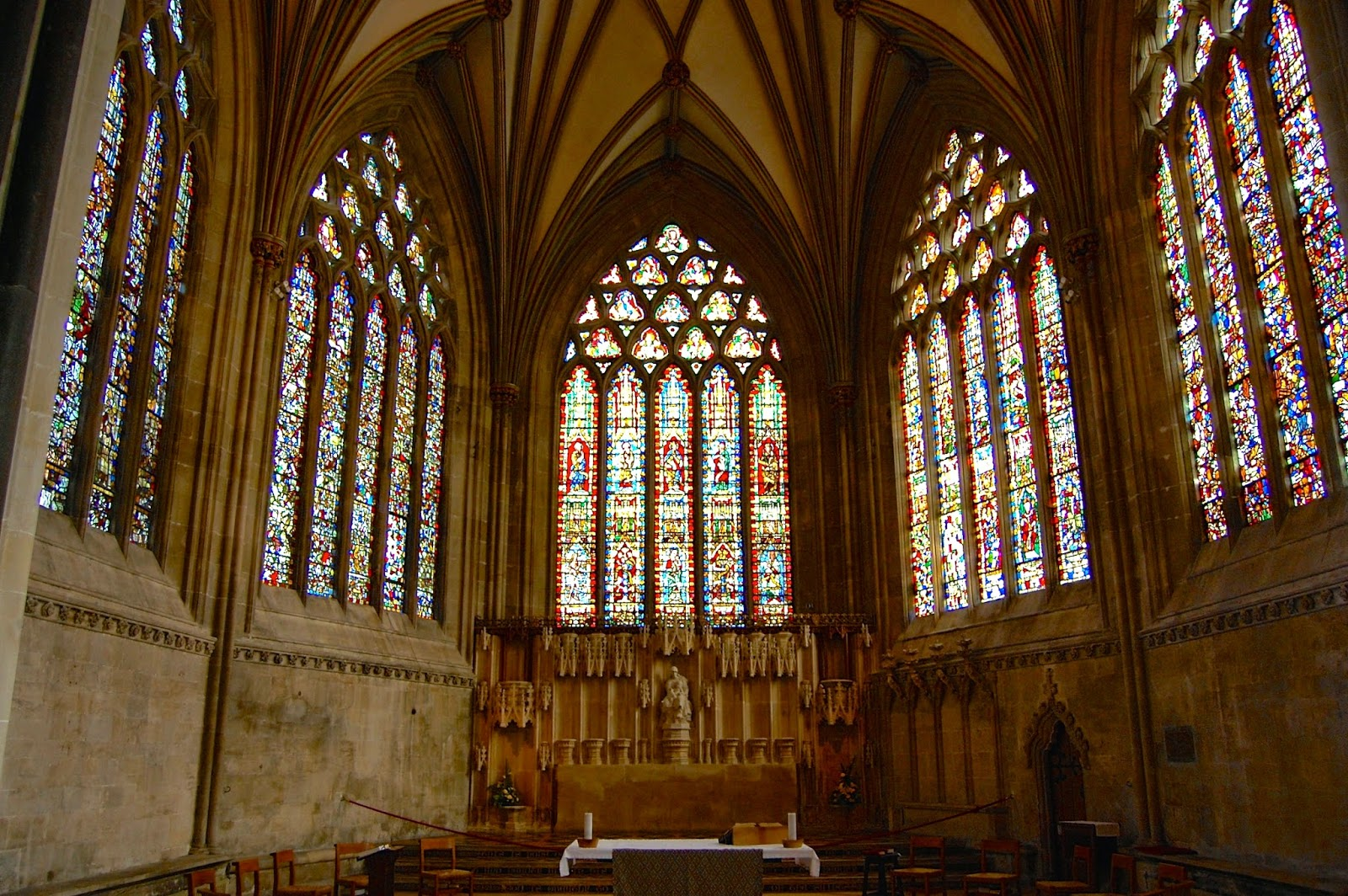 Lady Chapel in Wells Cathedral