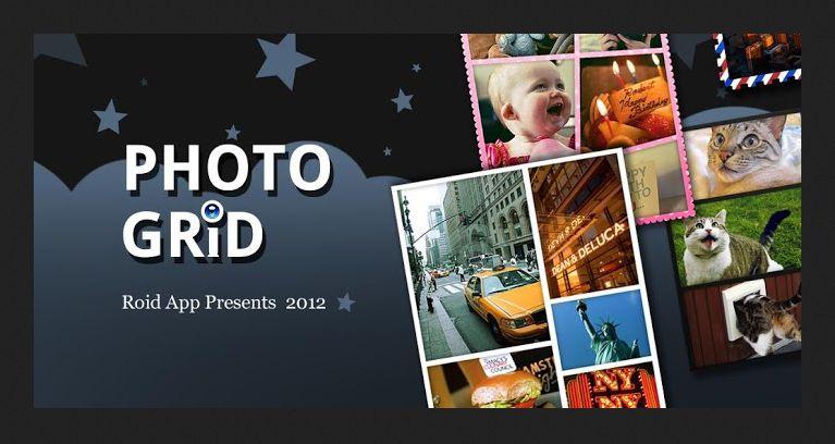 Aplikasi penggabung foto android - photo grid
