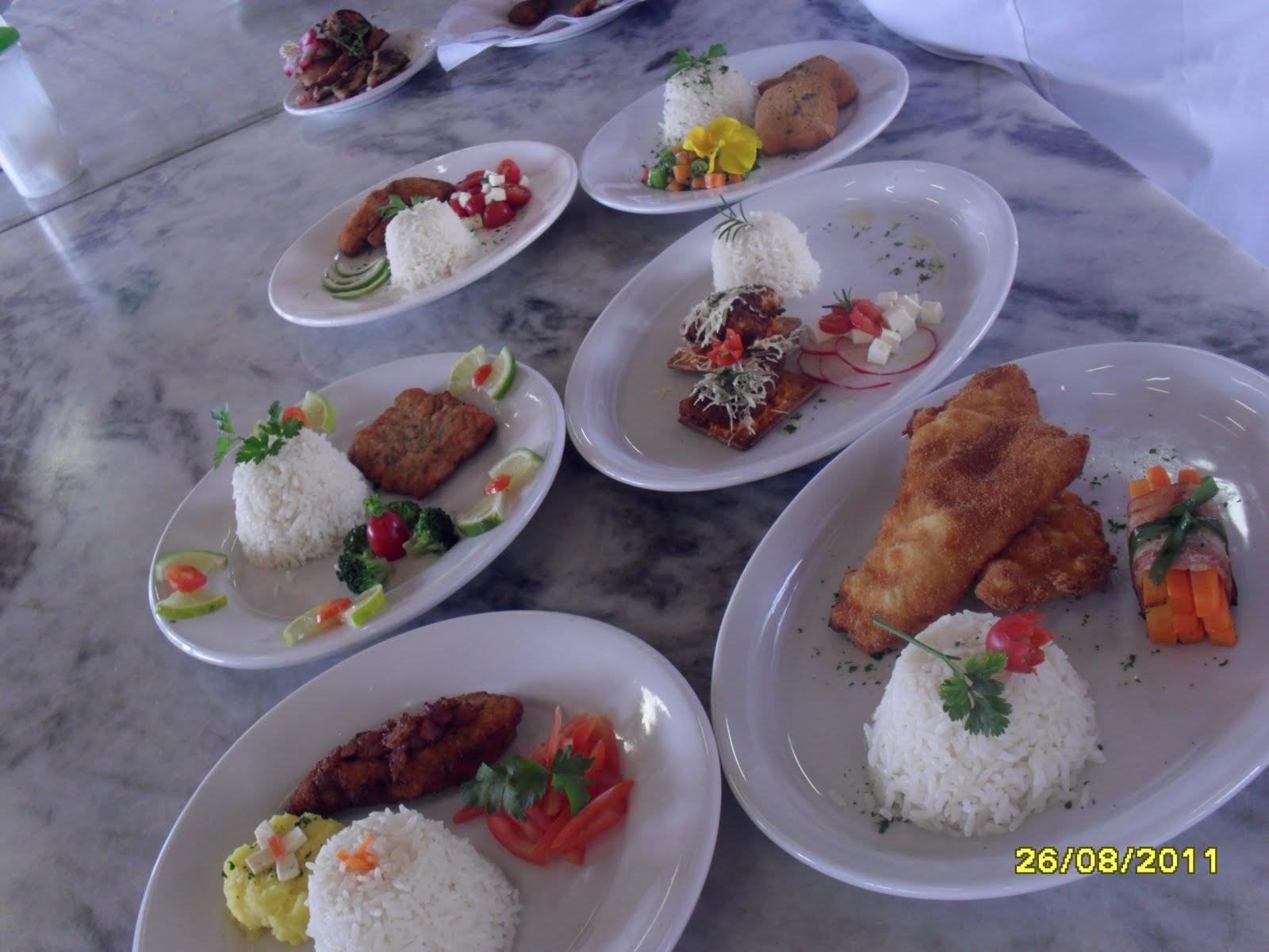 Curso Técnico em Gastronomia Aula de decoraç u00e3o de Pratos -> Curso Tecnico Em Decoração De Ambientes