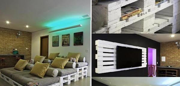 Sala de cine decorar tu casa es - Sala de cine en casa ...