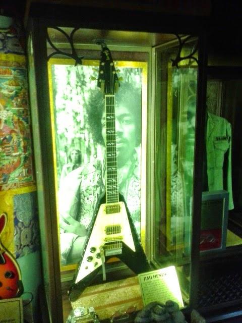 Jimi Hendrix no Hard Rock Londres