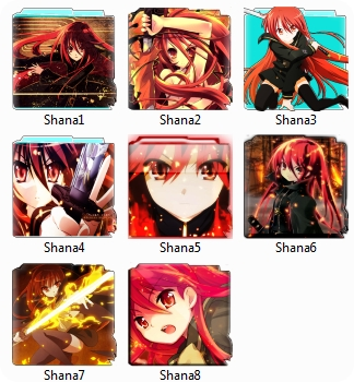 Shakugan no shana Folder pack icon
