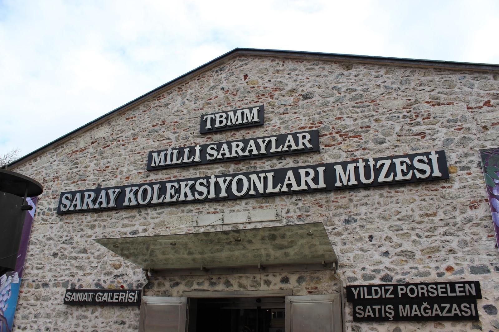 Milli saraylar saray koleksiyonları müzesi