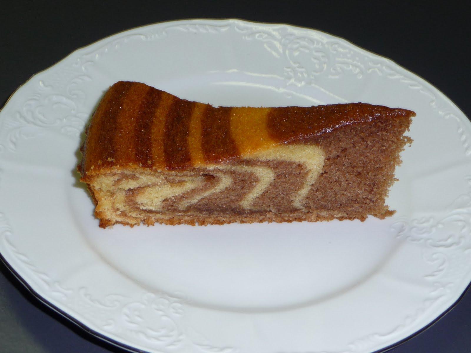 Le ricette di nadia torta zebrata di benedetta parodi - Ricette cucina parodi ...