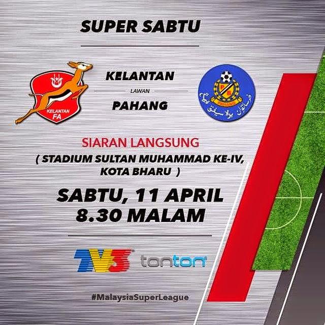 Keputusan Terkini Liga Super 11 April 2015