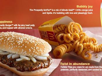 YES! Prosperity Burger is back!  So delicious! So Sedap!