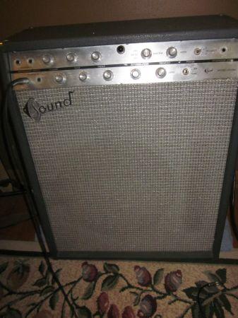 craigslist vintage guitar hunt 1965 sound x 305r 1x15 quot  tube combo amp in pasadena for  350 kustom amplifier schematics kustom 200 amp schematic