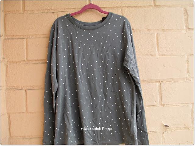 Compras en Primark Madrid Gran Vía - Camiseta estrellas manga larga