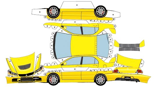 if the sheet metal used in car manufacturing was specified and toleranced with the same technical rigor as a sheet of paper is for print manufacturing the