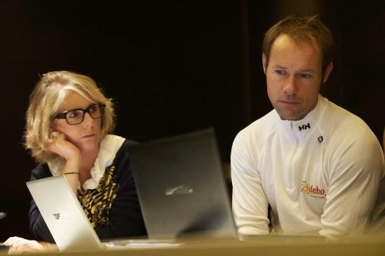 Hiver 2013 - Thomas Coville en stand by pour un tour du monde en solitaire