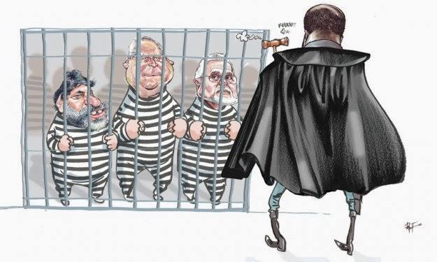 Paixão, prisão