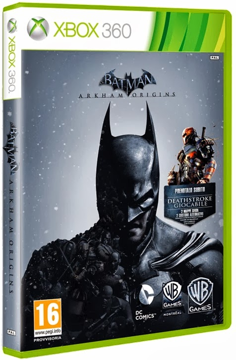Download - Jogo Batman Arkham Origins XBOX360-COMPLEX (2013)