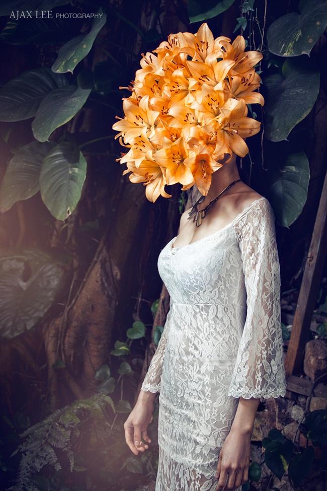 cf. Gareth Pugh 2015 SS Origami Flowers Bodysuit