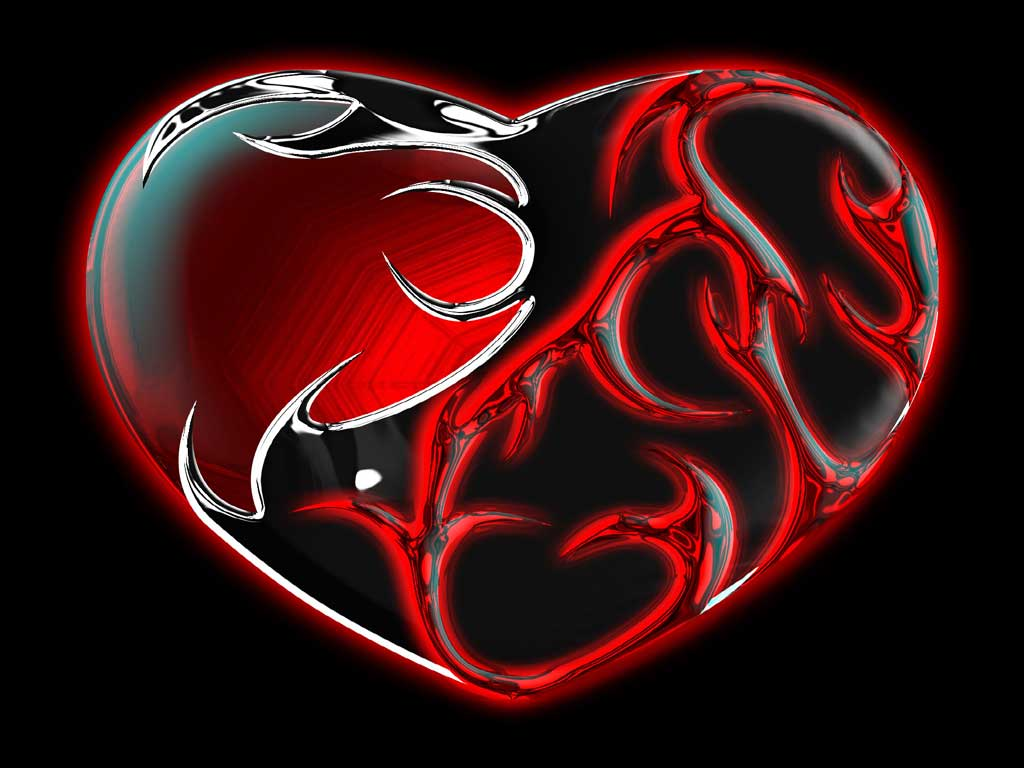 3d heart wallpaper | free 3d wallpaper download