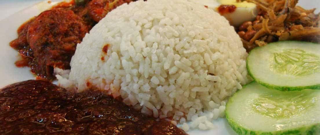 Nasi Lemak Antarabangsa Kampung Baru KL