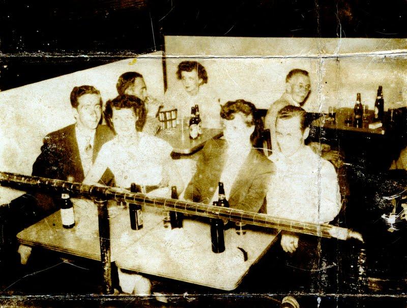 Maurice Belair Jacqueline Desgroseilliers Mariette and Jack White about 1953