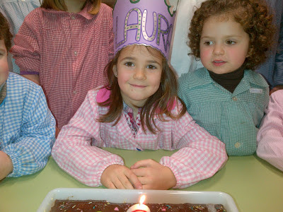 Laura cumple 6 años
