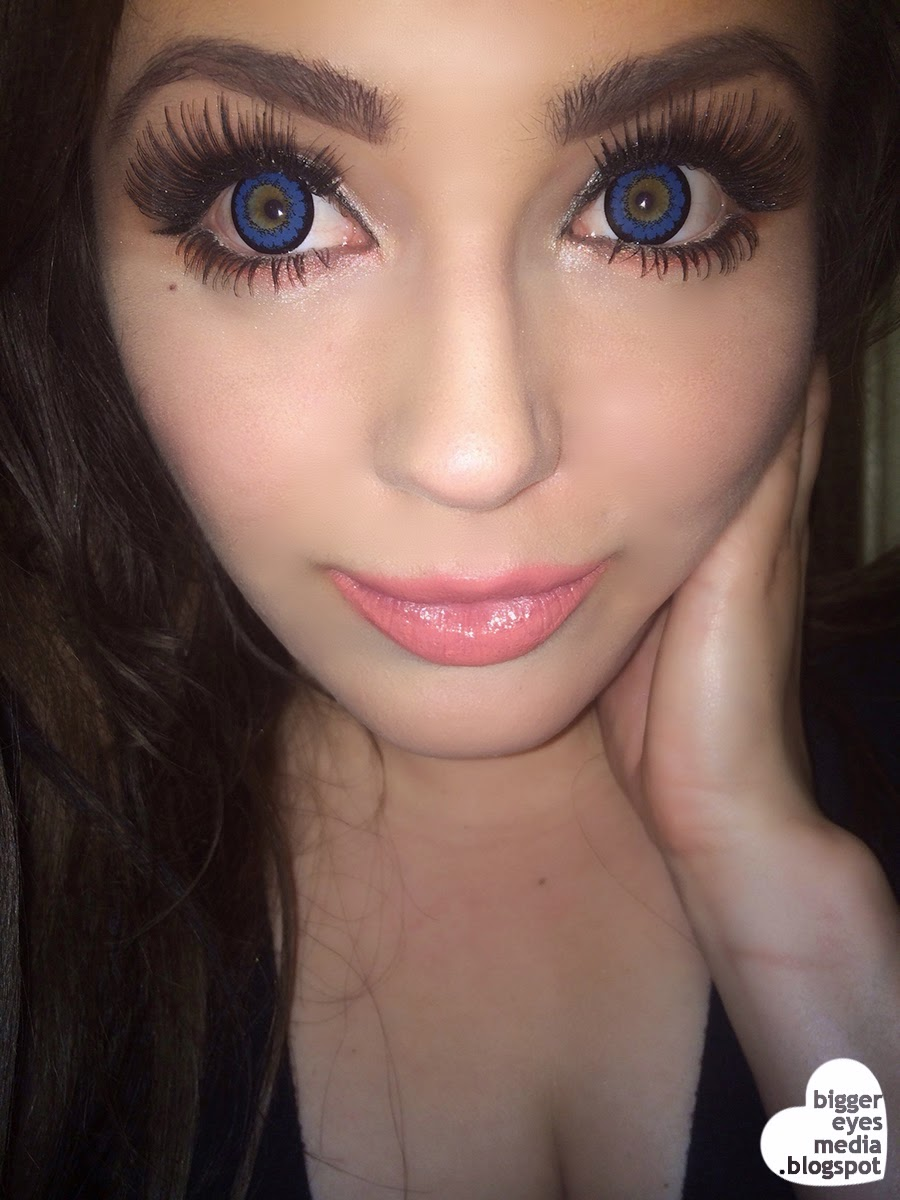Kawayii Super Big Eyes A Max Blue