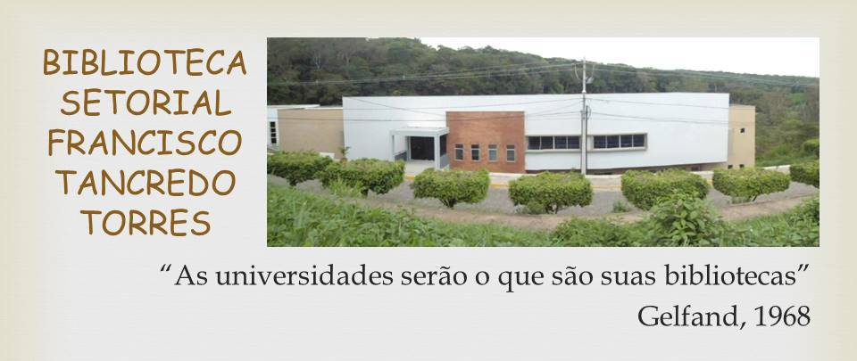 Biblioteca Setorial do CCA/UFPB
