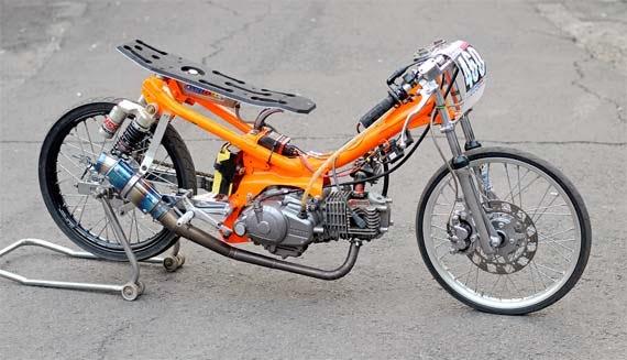 Gambar Modifikasi Motor Yamaha Vega R 2005