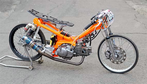 Gambar Modifikasi Motor Yamaha Vega R Ceper title=