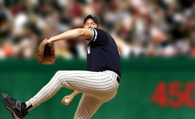 The Evolution of a Baseball Pitcher