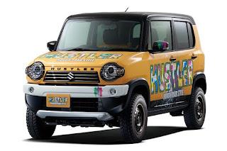 Suzuki Hustler Rough Road Style Concept (2016) Front Side