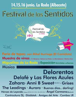 Festival de los sentidos 2013 cartel completo RODA ALBACETE