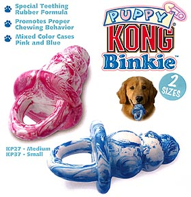 flawed original Kong Binkie design