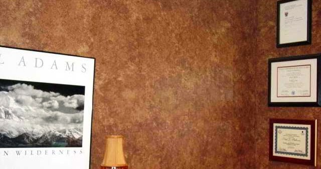 Different types of faux wall painting techniques for Different types of wall paint