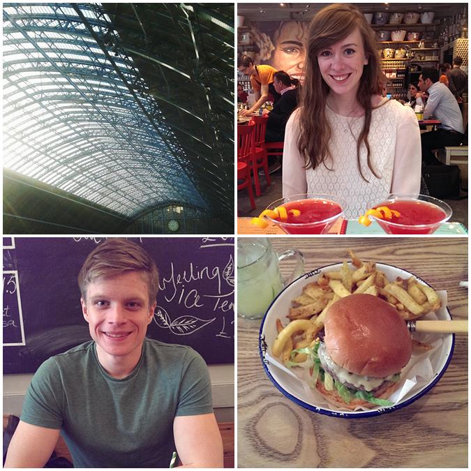 London St. Pancras, Comptoir Lebanese, Honest Burgers, Soho