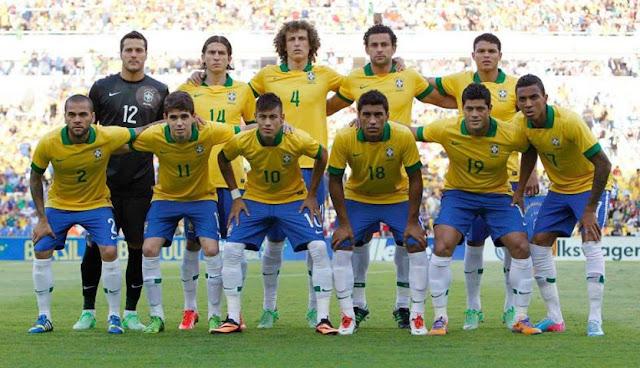 A CBF (Confederação Brasileira de Futebol) anunciou nesta segunda-feira a numeração  oficial do Brasil para a disputa da Copa do Mundo. d894424efa3db