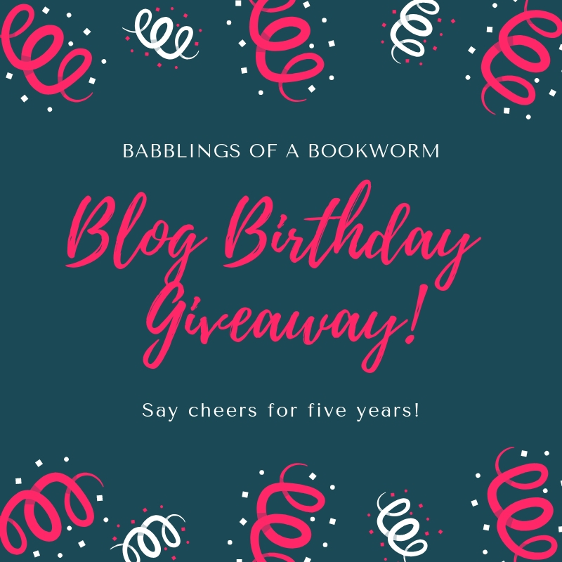 Blog Birthday Giveaway