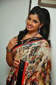 Syamala glamorous photos in saree-thumbnail-13
