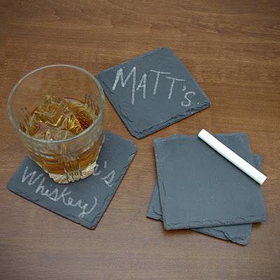 Chalkboard Beverage Coasters