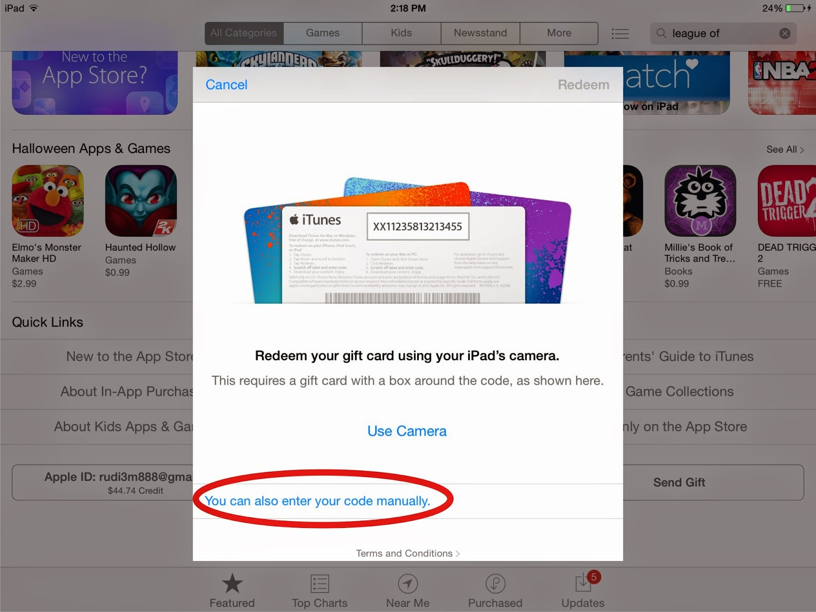 Free 1200 Gems Clash Of Clans For Real Redeem Ipad Iphone Itunes Gift Card Us 5 Input Your Voucher Code In The Mark Like Picture Below