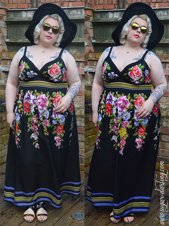 out of my comfort zone! plus size summer and holiday wear from
