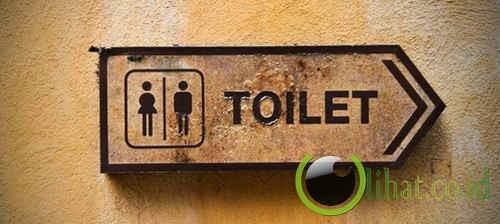 Mengapa aliran urine saat kencing kadang berubah arah?