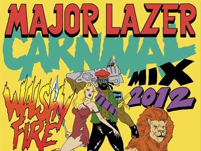 Major Lazer present Carnival 2012 Mix