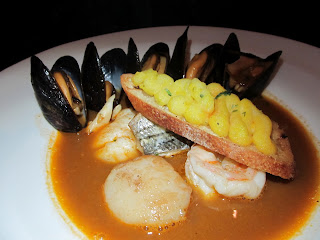 Meanwhile, Fiona was enjoying this New England Bouillabaisse: Gulf ...